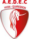 logo du club A.E.D.E.C. HYON-QUAREGNON
