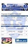 Programme du week end 27 et 28 octobre - JS MARZY