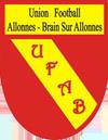 logo du club Union football Allonnes Brain