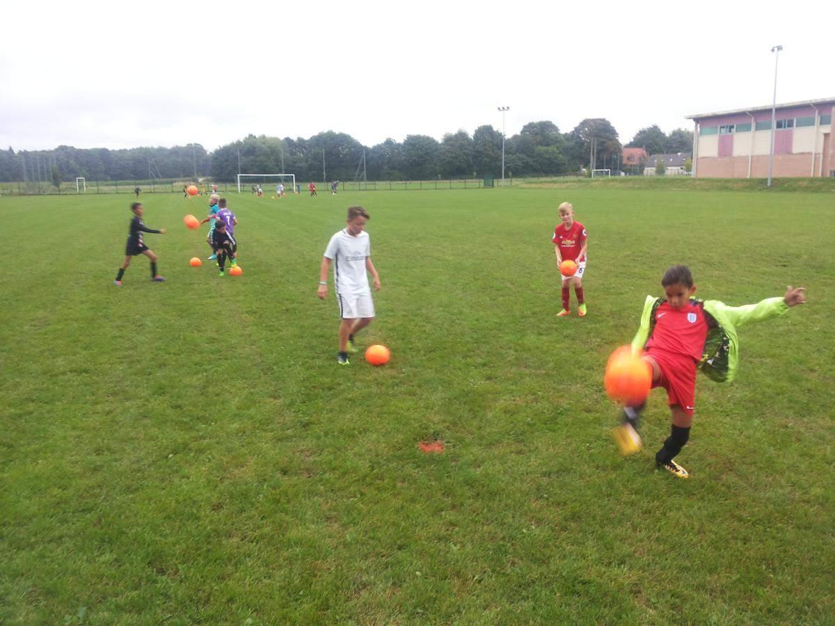 Actualité - REPRISE DES ENTRAINEMENTS U11 ET U13 - club Football AS CUINCY FOOTBALL - Footeo