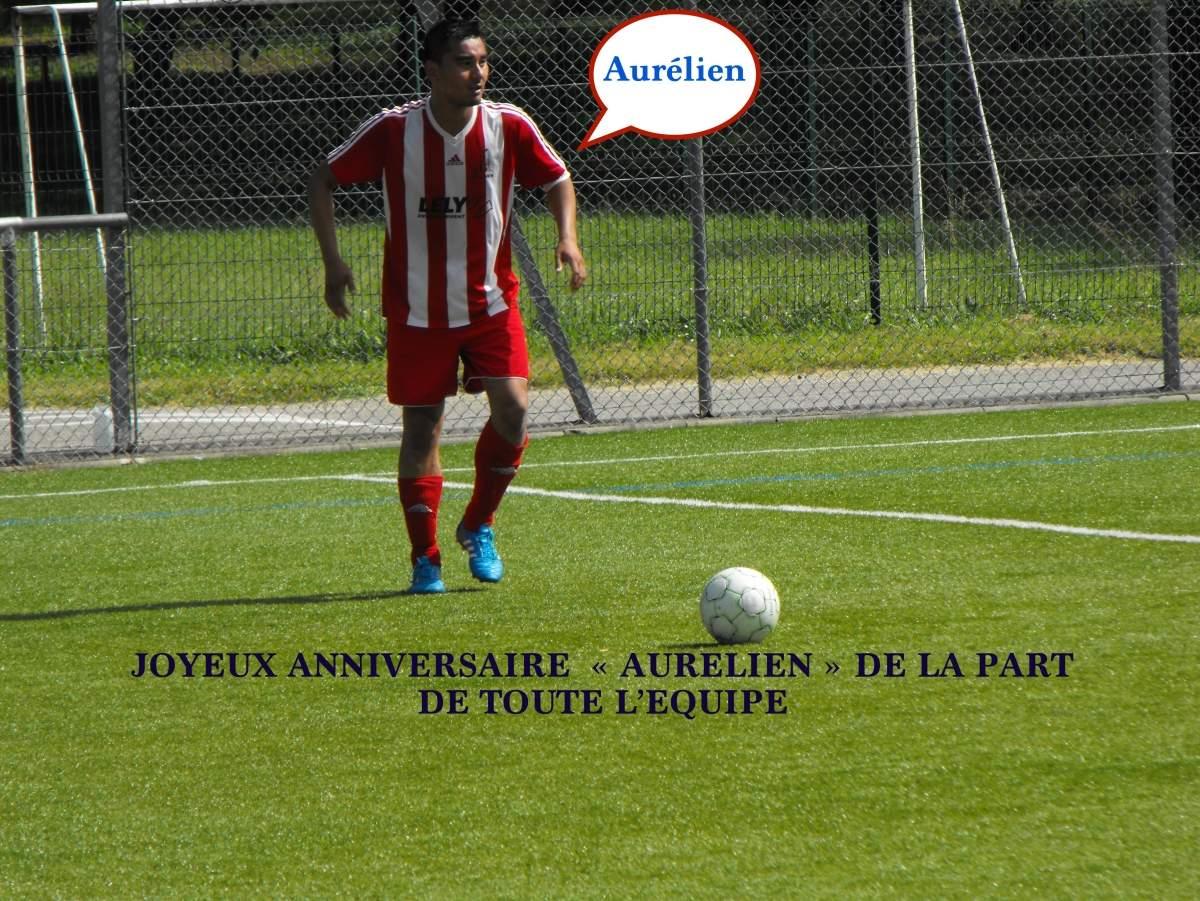 Album Joyeux Anniversaire Aurelien Club Football Fc St