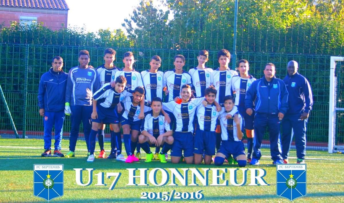 U17 FC SEPTEMES