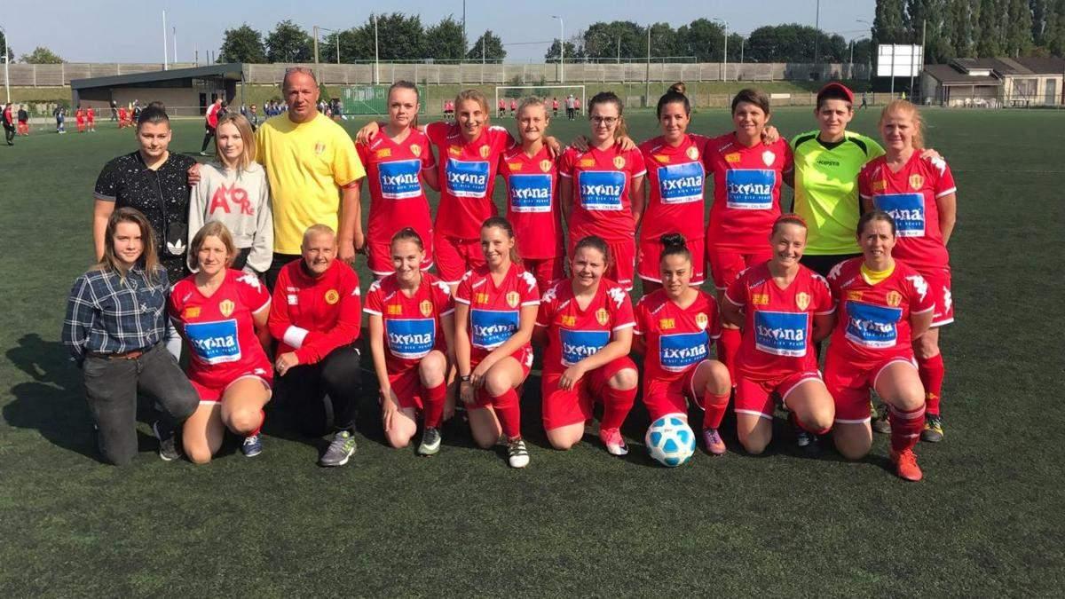 Gosselies sport girls
