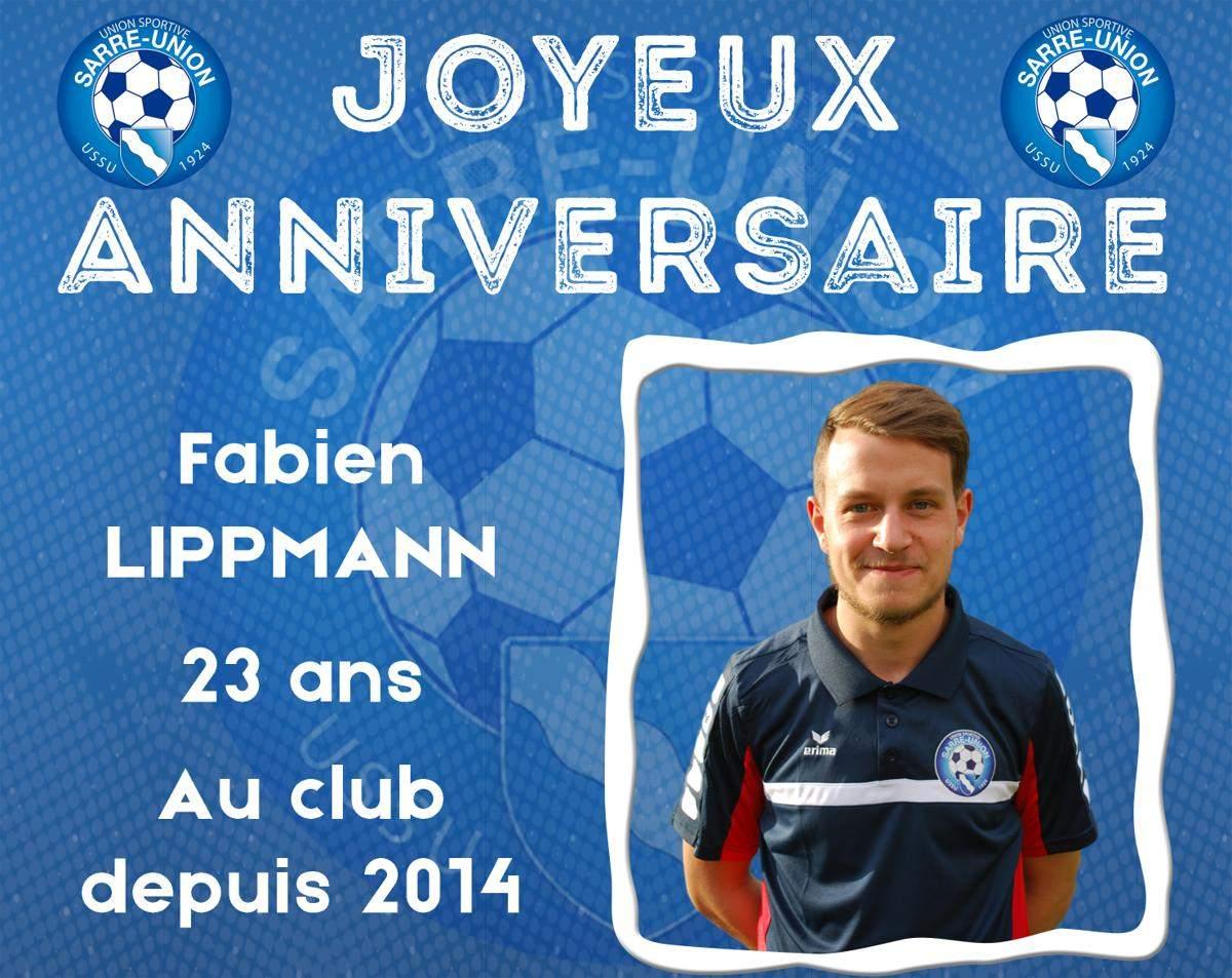 Actualite Joyeux Anniversaire Fabien Club Football Us Sarre
