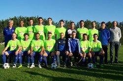 AASSJ Saison 2018 - 2019 . Les nouveaux maillots offerts par A.D. Sèvres-Anxaumont - Association Amicale Sportive de St-Julien l'Ars