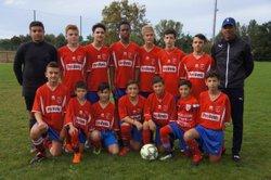 Victoire pour les U15 D3