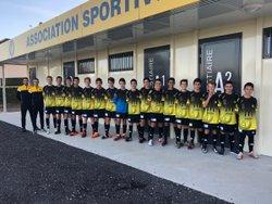 Groupe U15 ASC 2018/2019 - Association Sportive Chapelloise