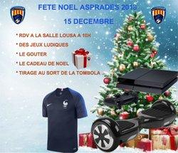 Fête Noël A S Prades2018