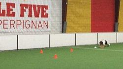 YONA OUAZENE - ASPTG ÉLITE FOOTBALL - FIVE PERPIGNAN - 19.10.2018 - ASSOCIATION SPORTIVE DE PRO-TRAINING GAMES