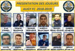Effectif de la saison 2018-2019 - Augy Football Club