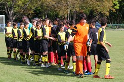U 15  -  MARQUISAT  le  13 - 10 - 2018 - BOUTONS D'OR GER