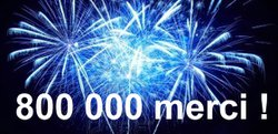800 000 Visites !!!
