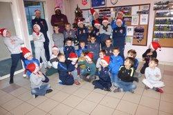 Arbre de Noël du CSSP pour les U7, U9 et U11 - Club Sportif de Saint-Pierre