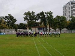 2018 10 07 - U17 à Bagatelle - CADOURS Olympique