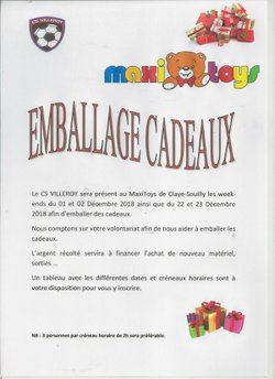 Emballage cadeaux Maxitoys - csvilleroy