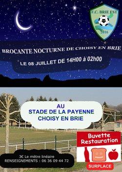 BROCANTE NOCTURNE FCBE