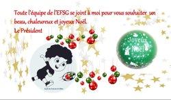Joyeux Noël à Toutes et à Tous - Ecole de Foot Saint Gilles