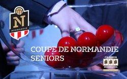 INFORMATION SENIOR A : TIRAGE DU 3ÈME TOUR DE LA COUPE DE NORMANDIE