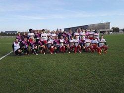 Match des Féminines U19 de l'UBBN face à CJF Fleury les Aubrais - Entente Sportive Nancray Chambon Nibelle