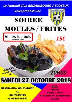 SOIREE MOULES / FRITES DU FCBE
