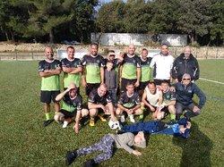 l équipe de super vétérans - FOOTBALL CLUB MIRAMAS