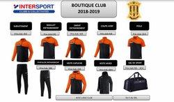 Boutique du club 2018/2019 - Football Club de Nouainville