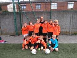 U11 rentrée du foot - FC Sailly