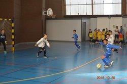 U11 B : 1er tour de coupe futsal espoir - Fleur de Genêt Bannalec