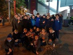 U13 invités lors de la rencontre Metz-Auxerre du 05/11/18 - Jeunesse Sportive RETTEL-HUNTING