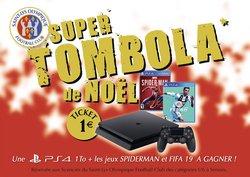 TOMBOLA DE NOEL !