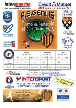 tournoi de pentecôte 2016