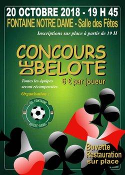 CONCOURS DE BELOTE