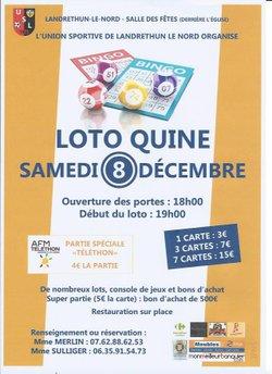 Loto Quine 08/12/2018