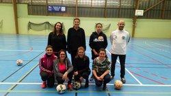 photos futsal entrainements - US TRESBOEUF - LE SEL - LALLEU