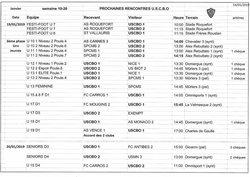 RENCONTRES DES 19 ET 20 JANVIER