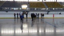 Après midi patinoire pour les U13 du stage de la Toussaint! - U.S. LA CHAPELLE ST MESMIN