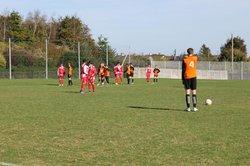 Match du 29 septembre 2018 -- U15G - Cs Carentan - Défaite 4-0 - USLG Football