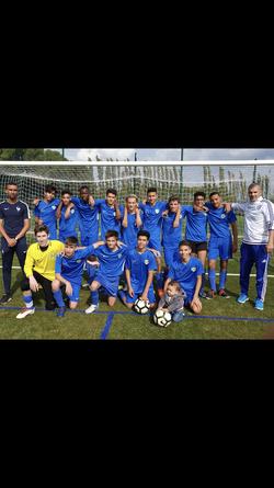 Festival des nos U17 victore 11-2 contre Grans