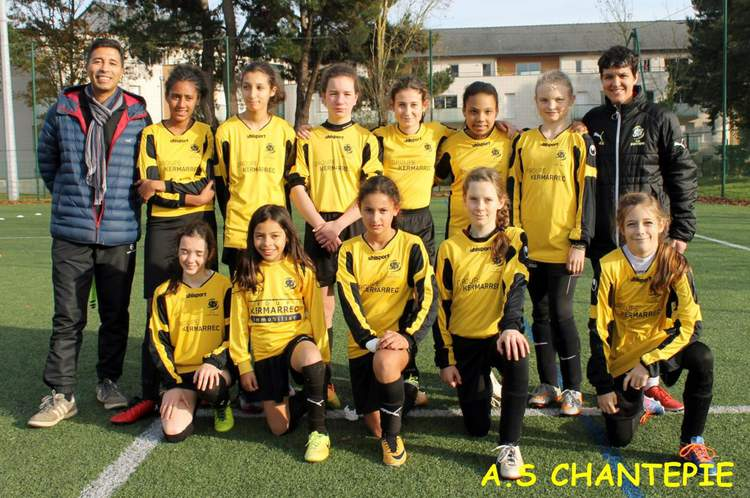 Entente U13F/ Cheminots rennais