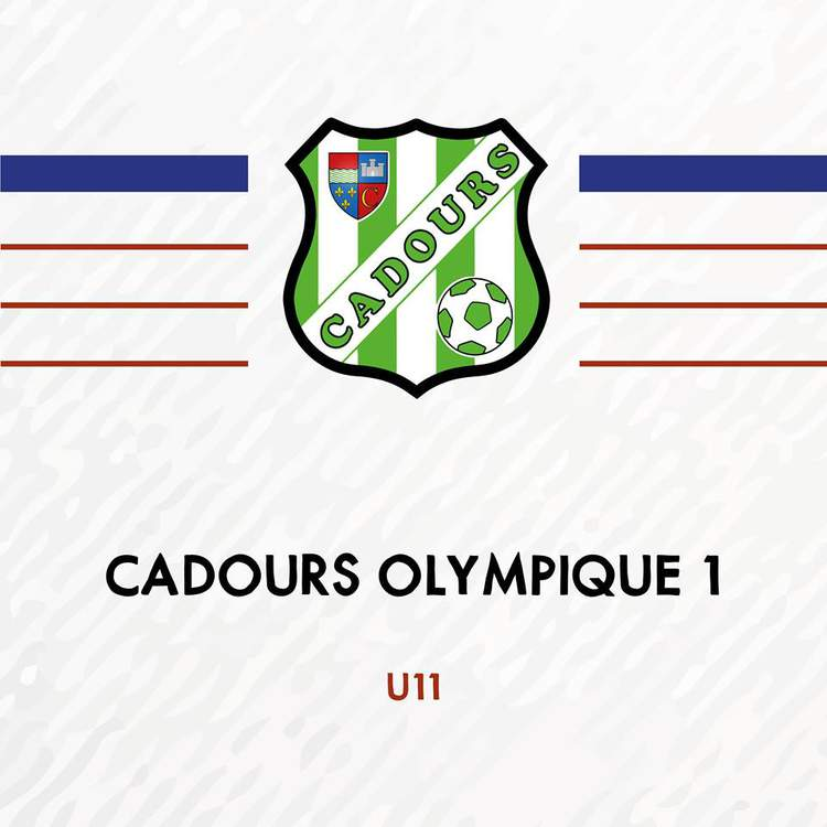 U11 - CADOURS OLYMPIQUE 1
