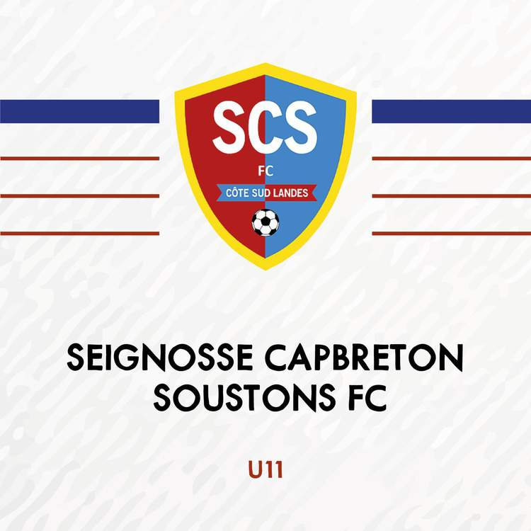U11 - SEIGNOSSE CAPBRETON SOUSTONS FC