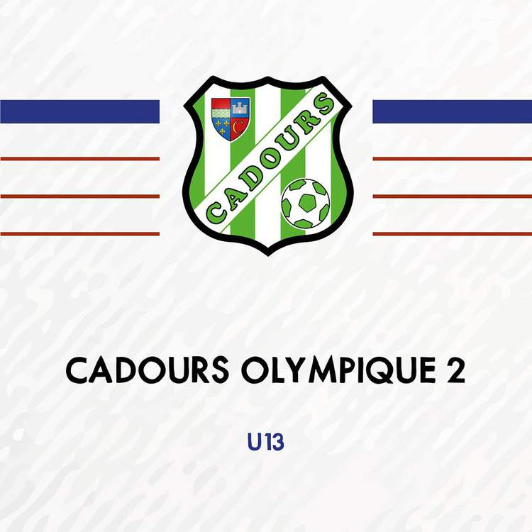 U13 - CADOURS OLYMPIQUE 2