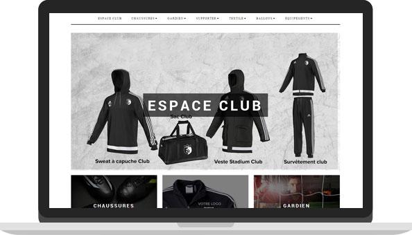 la future boutique de votre club