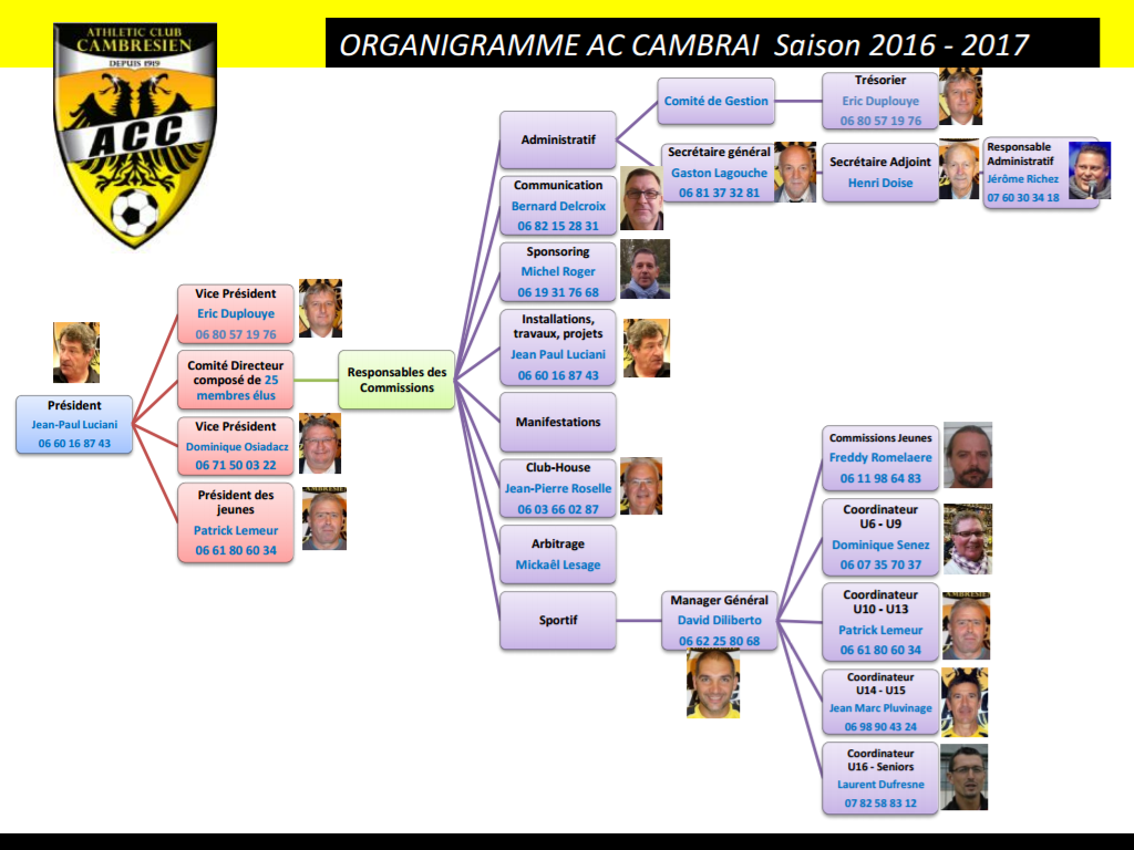 organigramme ACC