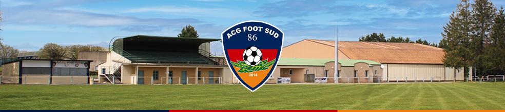 A.C.G. FOOT SUD 86 : site officiel du club de foot de CIVRAY - footeo