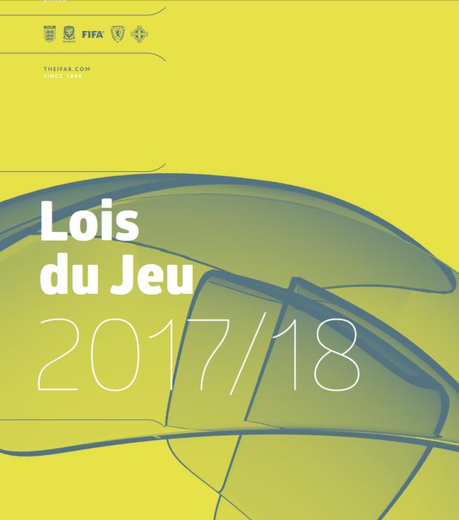 Lois du jeu 2017-2018