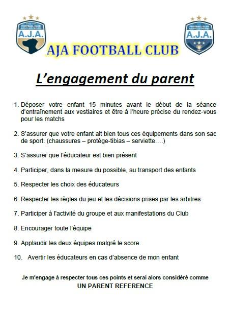 L'engagement du parent