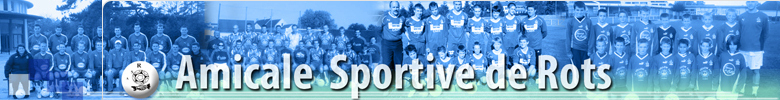 AMICALE SPORTIVE DE ROTS : site officiel du club de foot de ROTS - footeo