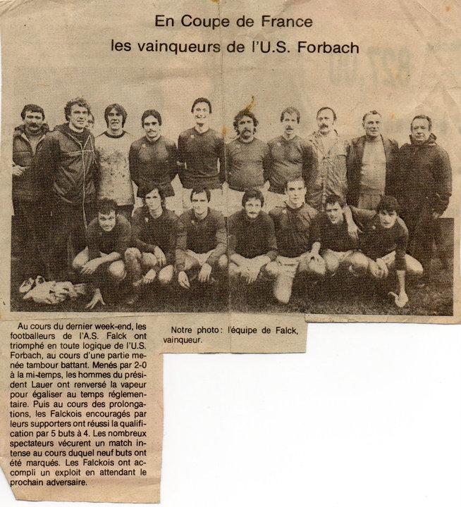 exploit coupe de France face à Forbach