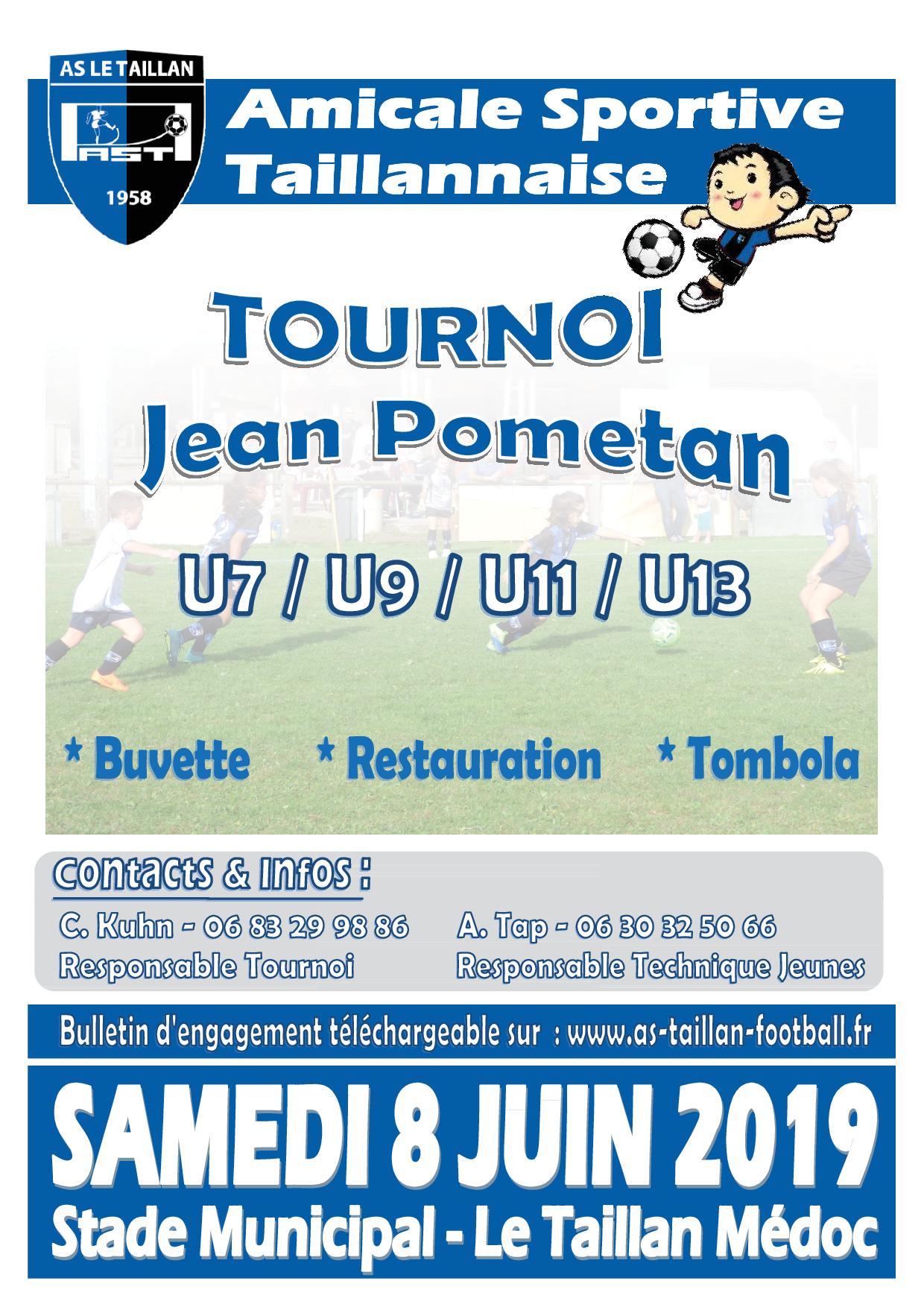 Tournoi Jean Pometan - Edition 2019